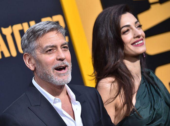 George i Amal Clooney   fot. shutterstock / DFree