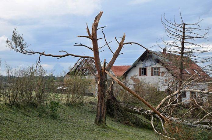 Tornado na Morawach