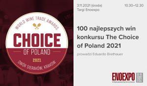 100 najlepszych win konkursu The Choice of Poland 2021